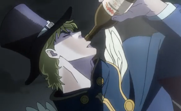 Confound these JoJos, they drive me to drink!