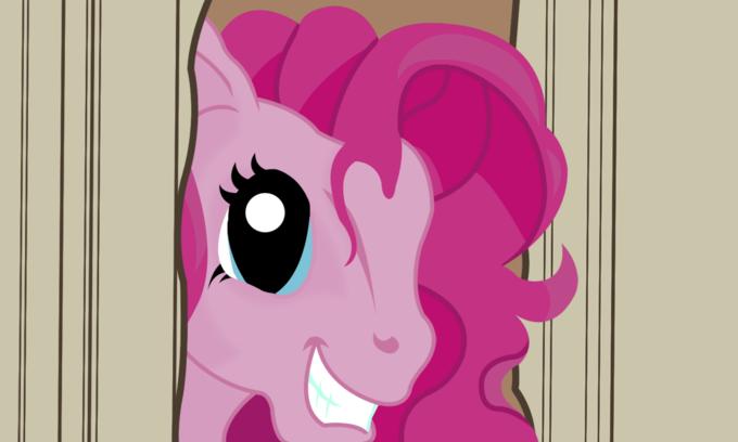 Here's Pinkie!