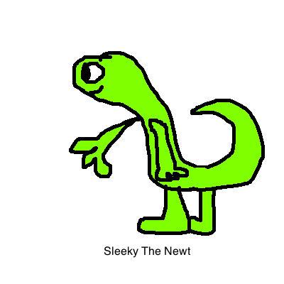 It's A Newt!