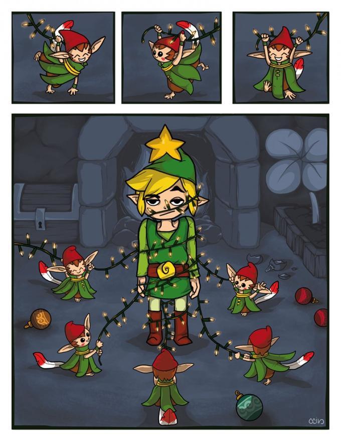 The Minish Christmas