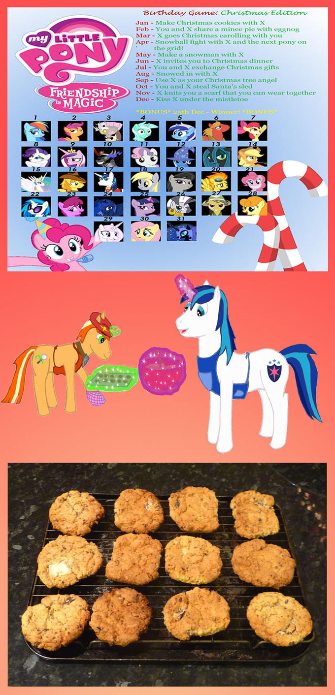I hope you like cookies