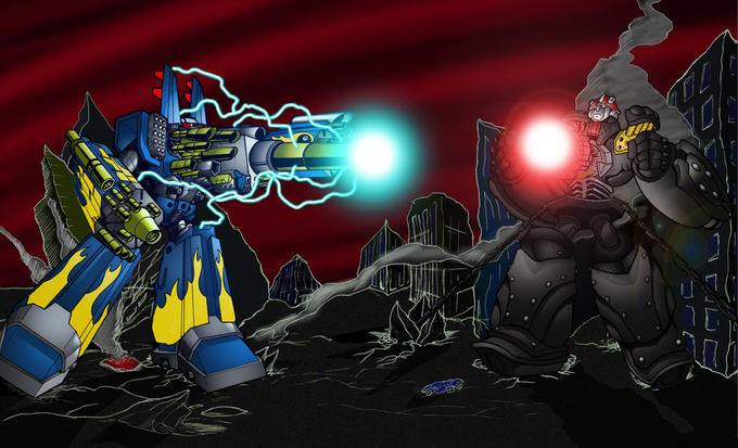 MEGAS XLR vs BIG O