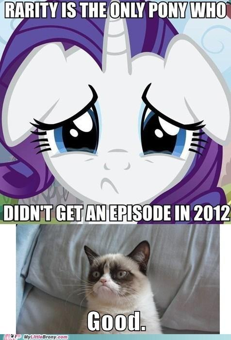 rarity grumpy cat