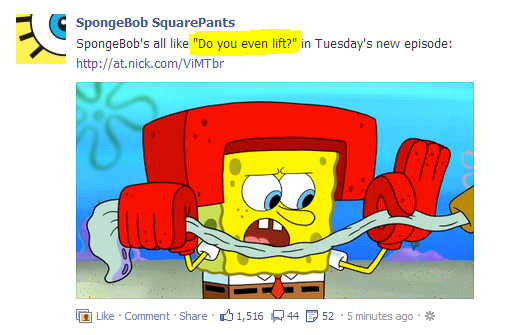 Spongebob DYEL