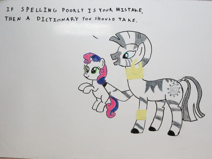 Zecora Whiteboard