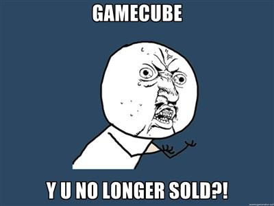 Gamecube Y U NO LONGER SOLD?!