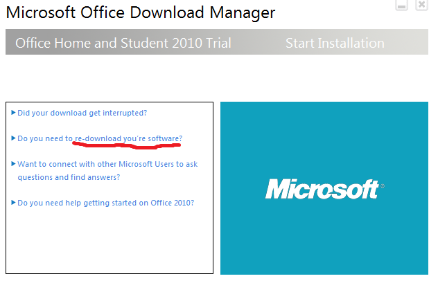 Microsoft seems to think that I'm software