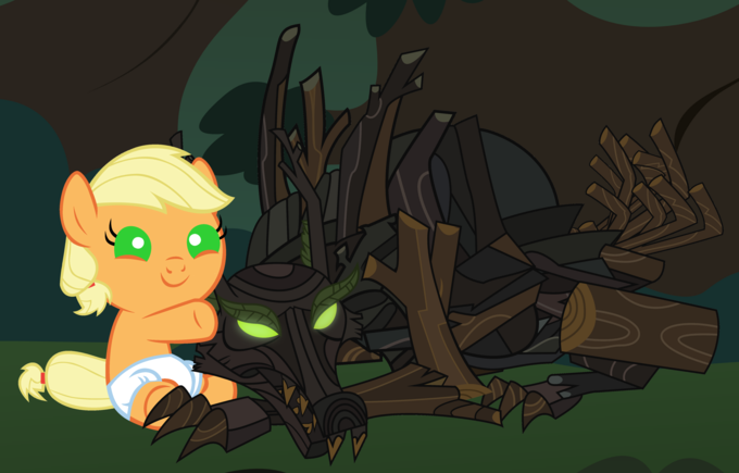 Applejack's New Friend