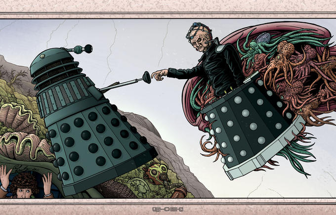As told in the book of Genesis (of the Daleks)