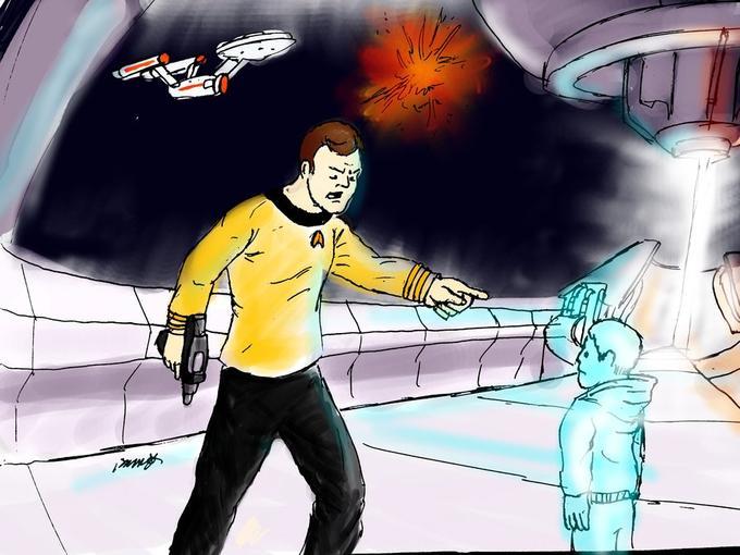 Captain Kirk doesn't believe in no win senarios