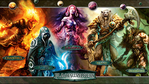 Main five planeswalkers