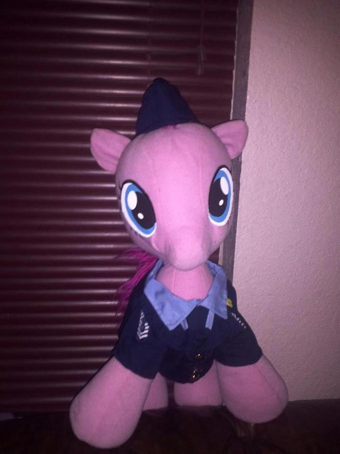 one of our fans has a air force pinkie pie ^3^