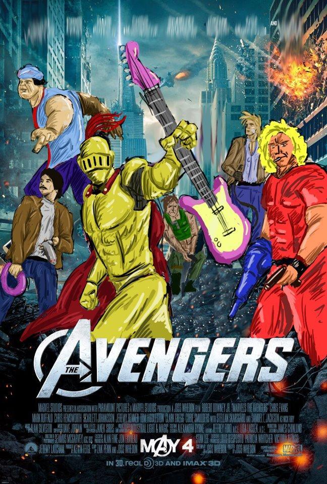 The Retsu-vengers.