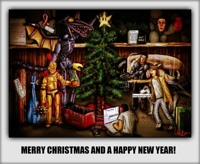Merry Christmas To All, And To All: Dead To Rights!