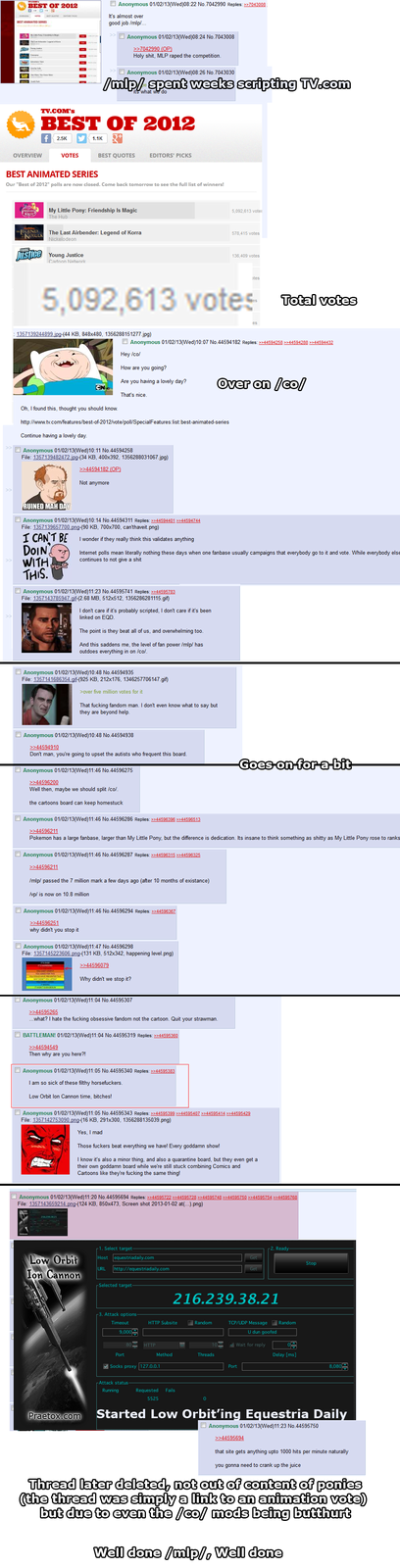 /mlp/ kicked /co/ in the ass and then made them cry about it for hours on end
