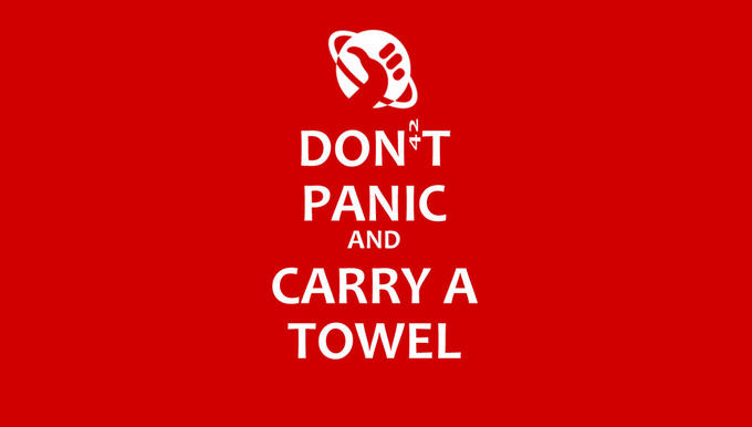 Towel Day, May 25th