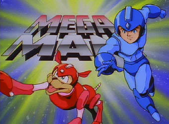 Mega Man - the cartoon series (Title)
