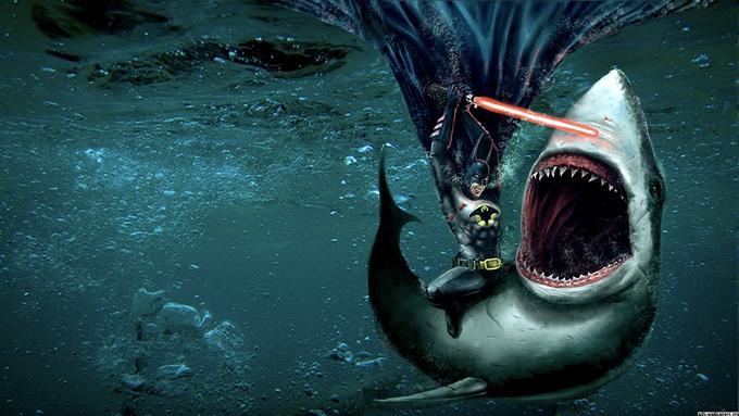 Batman Vs Shark
