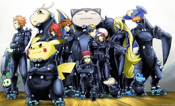 Pokemon + Gantz