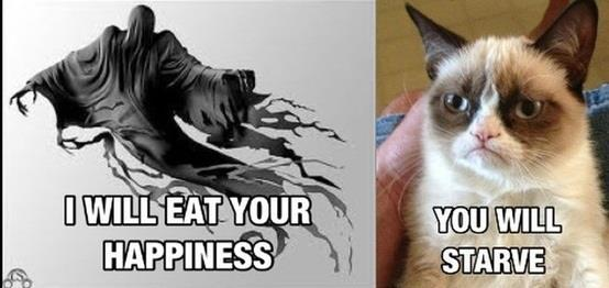 I will eat your happiness.