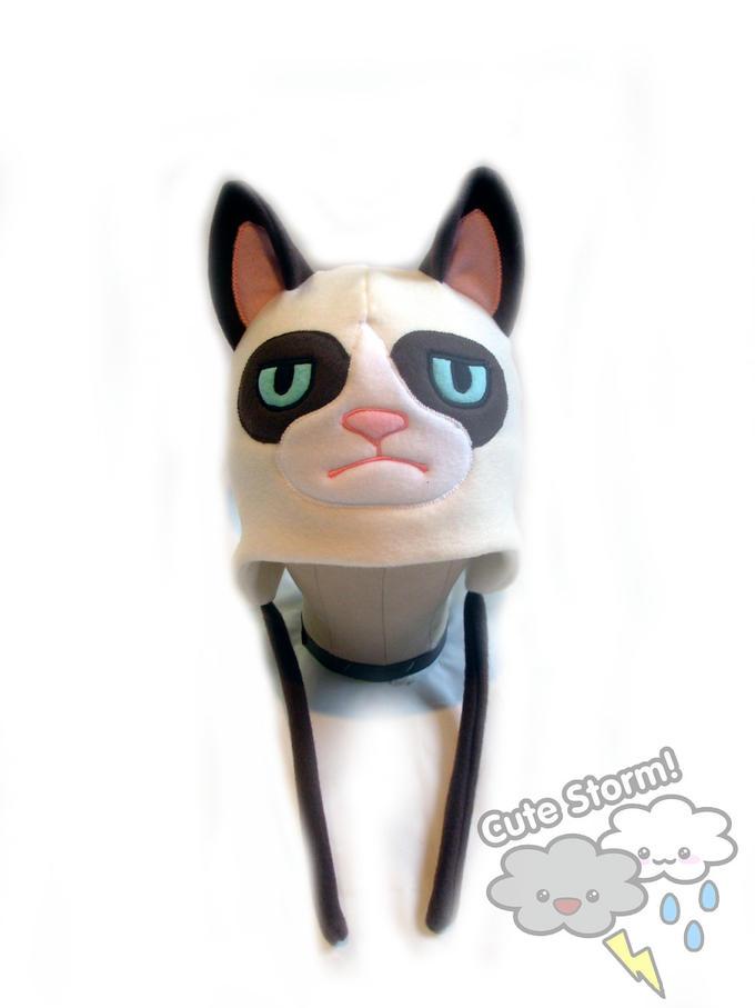 The grumpy cat hat