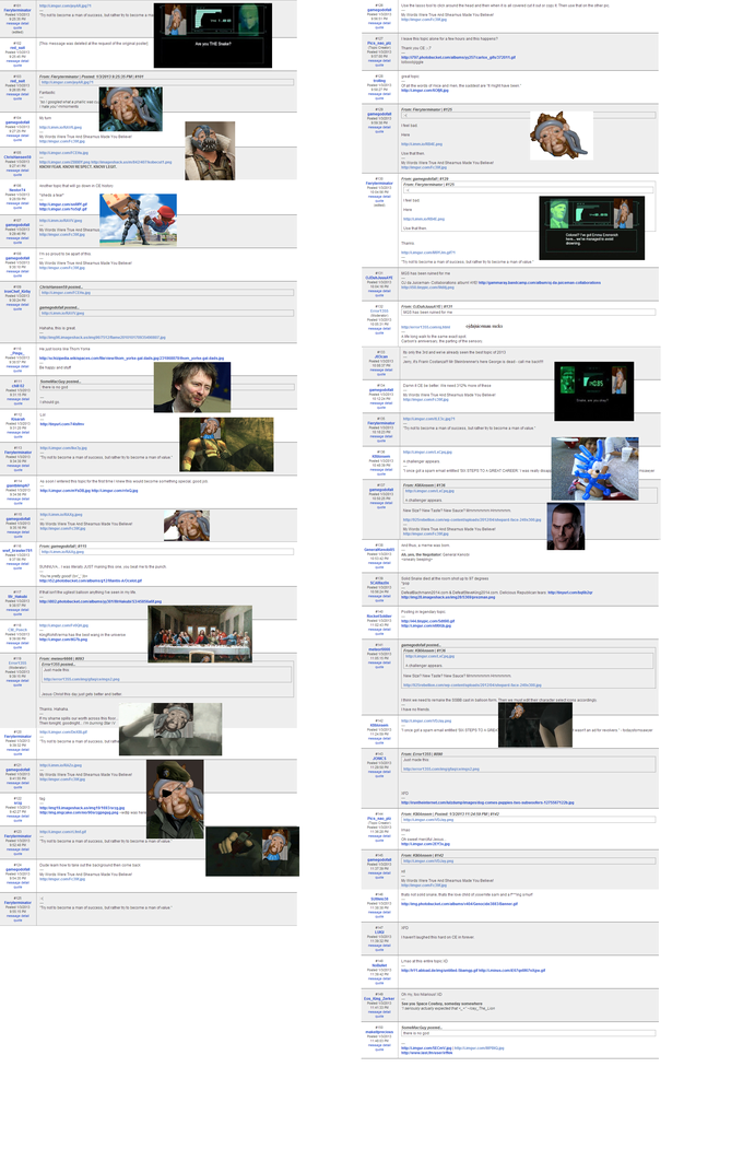 """RIP Solid Snake"" topic from Gamefaqs Current Events board - Page 3"