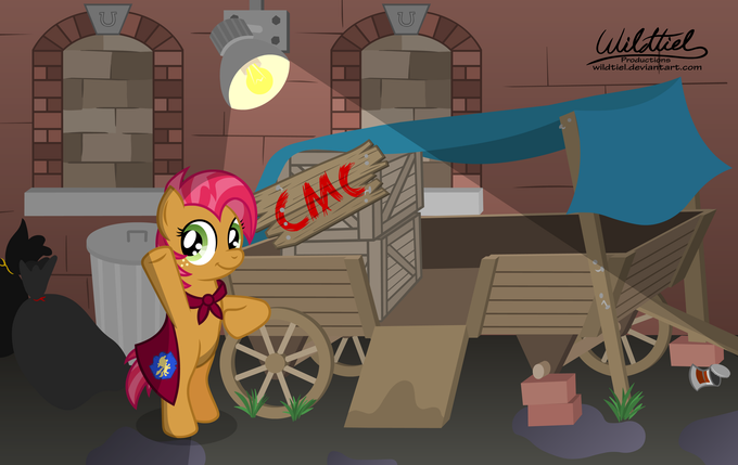 Cutie Mark Crusaders Manehattan Branch