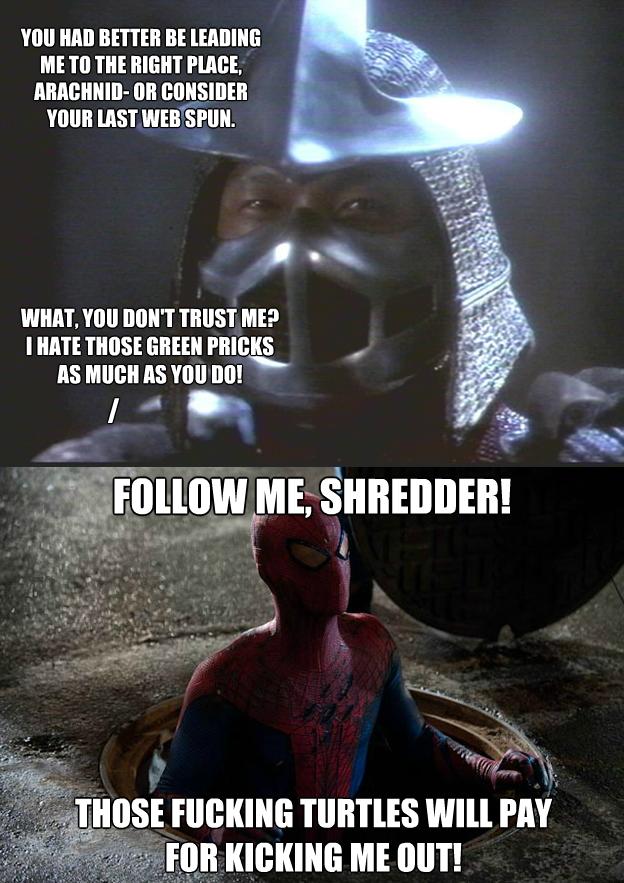 Spidey gets vengeance