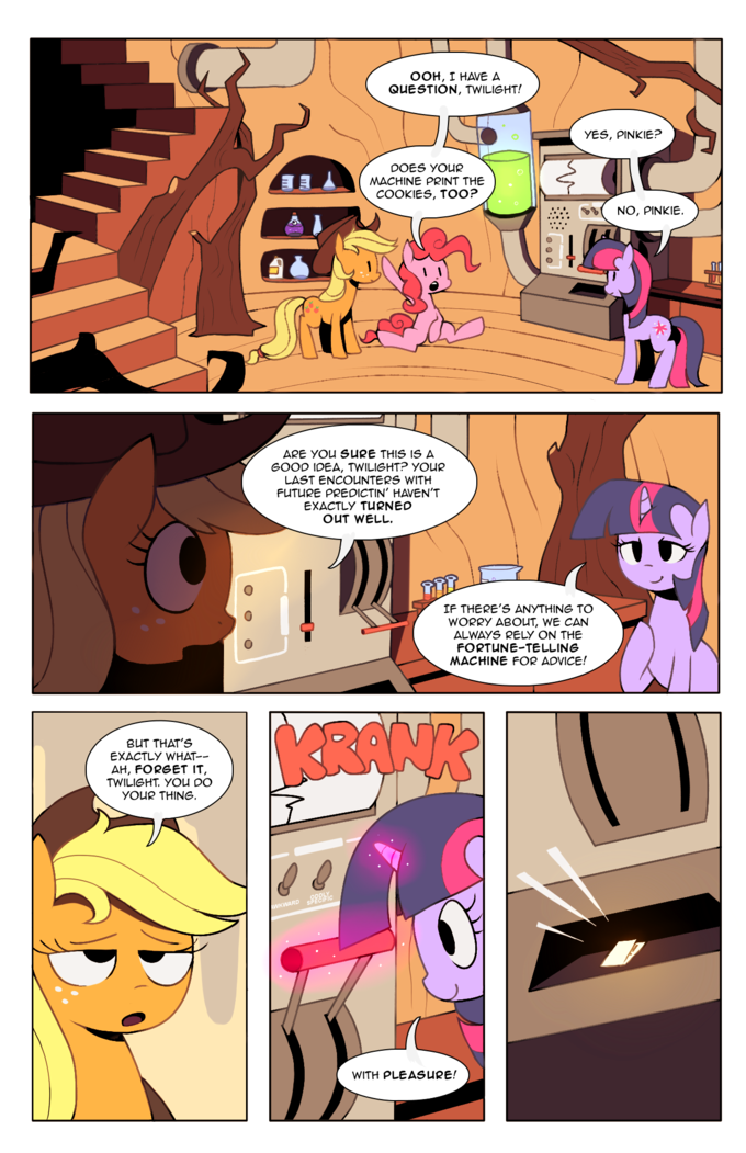 Tales from Ponyville: Chapter 1, Page 3