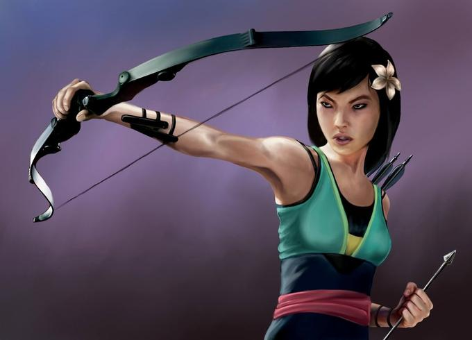 Princess Avengers: HAWKEYE