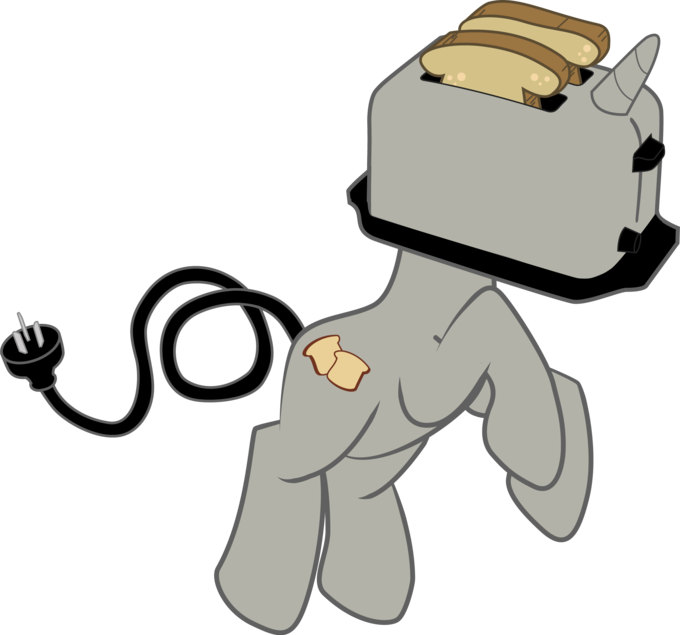 Toast is best pony.