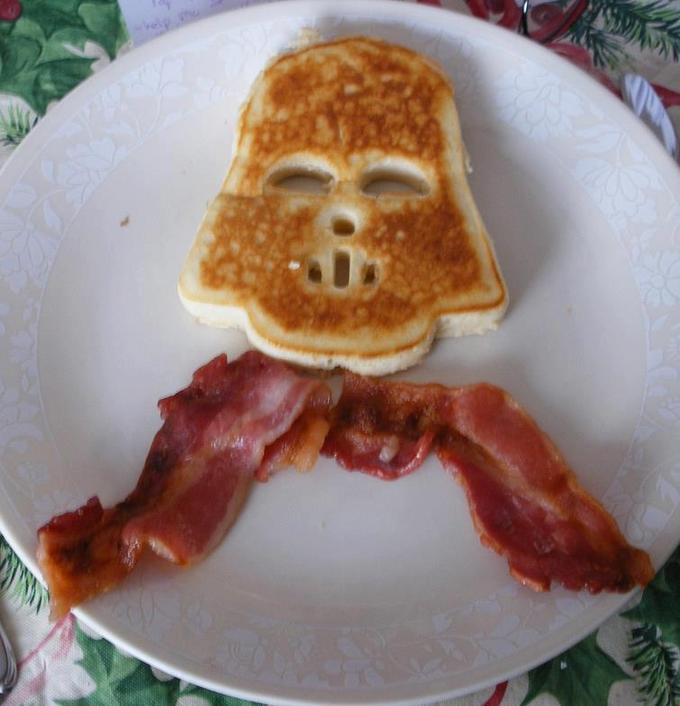 Darth Vader Breakfast