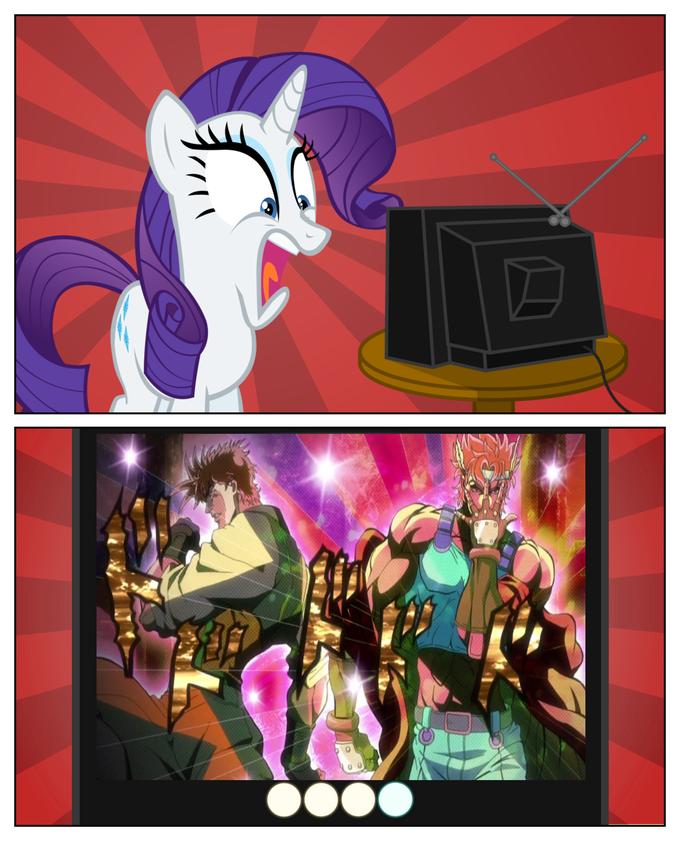Too much fabulous for Rarity's brain.