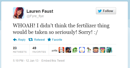Toilets in Equestria part 2/Silly Miss Faust, your word is more powerful than you think.