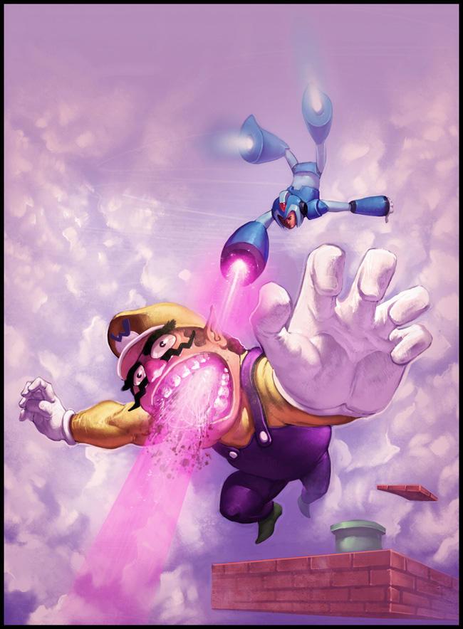 Megaman vs. Wario