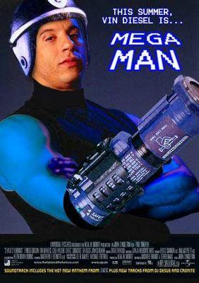 Vin Diesel is MEGA MAN
