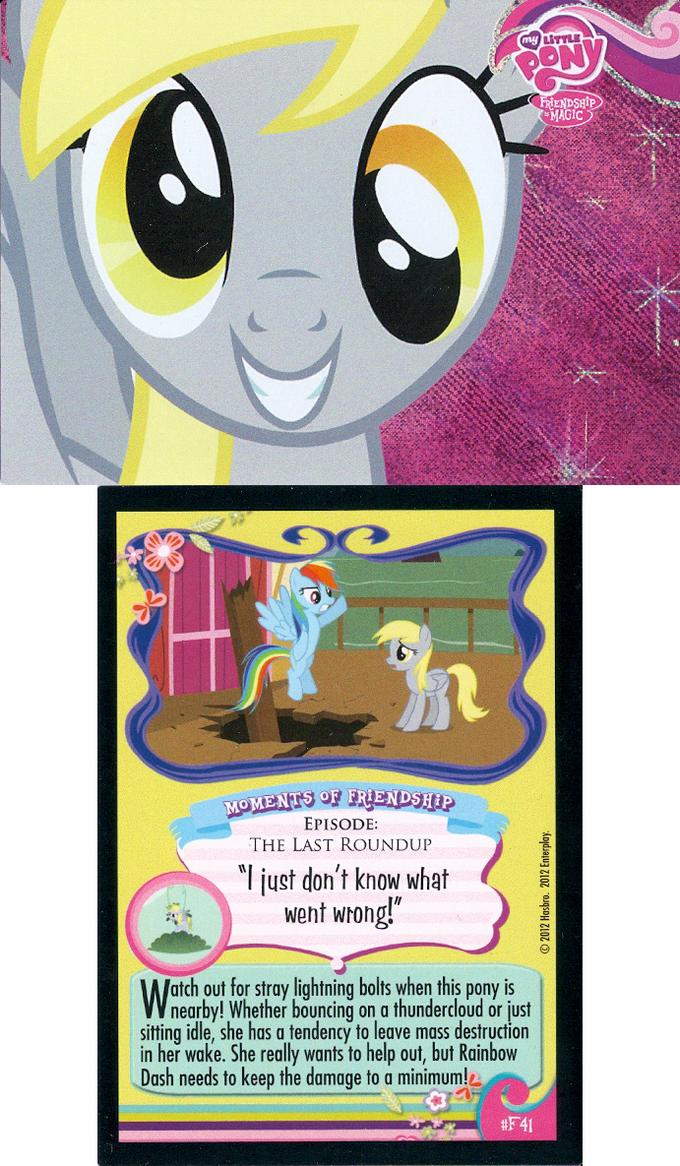 MLP:FiM Derpy Special Foil Card