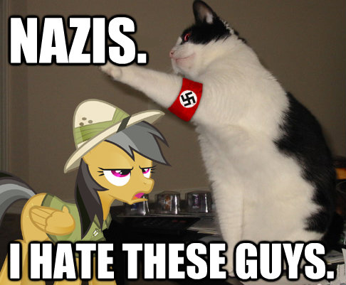 Nazis. I hate these guys.