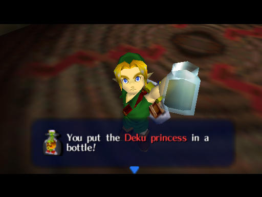 Deku Princess in a Bottle
