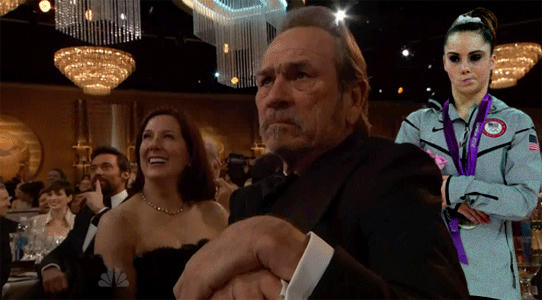 Tommy Lee Jones & McKayla