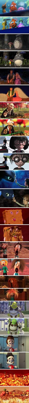 Badly Recreated Animated Films