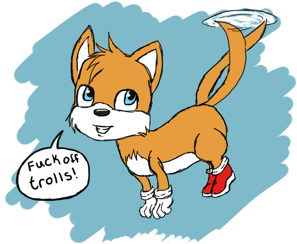 Tails Trolls the Trolls by SwinInSoup