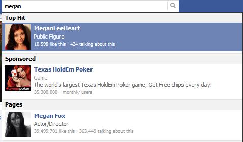 Megan Steals the Facebook Top Hits