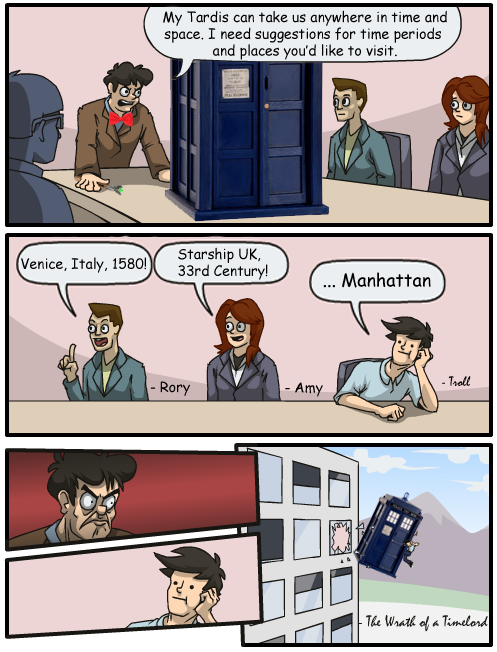 The Wrath of a Timelord