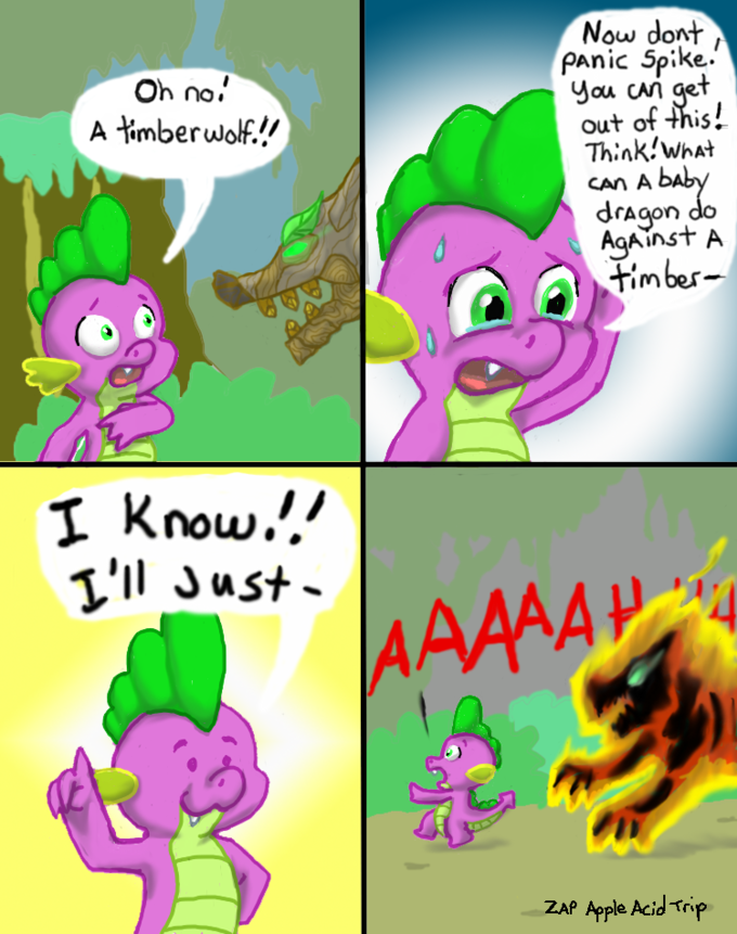 Spike has a great idea