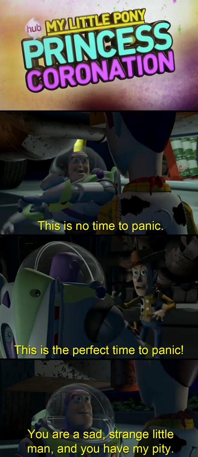 To Panic or Not to Panic