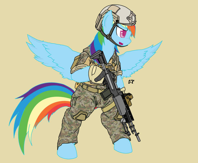 Loyalty - Bear true faith and allegiance to the U.E. Constitution, the Royal Guard, your unit and other ponies