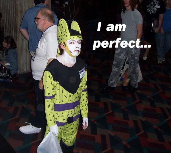 Depressing Cell Cosplayer