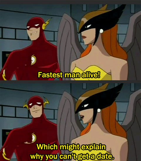 Why Flash Can't Get a Date