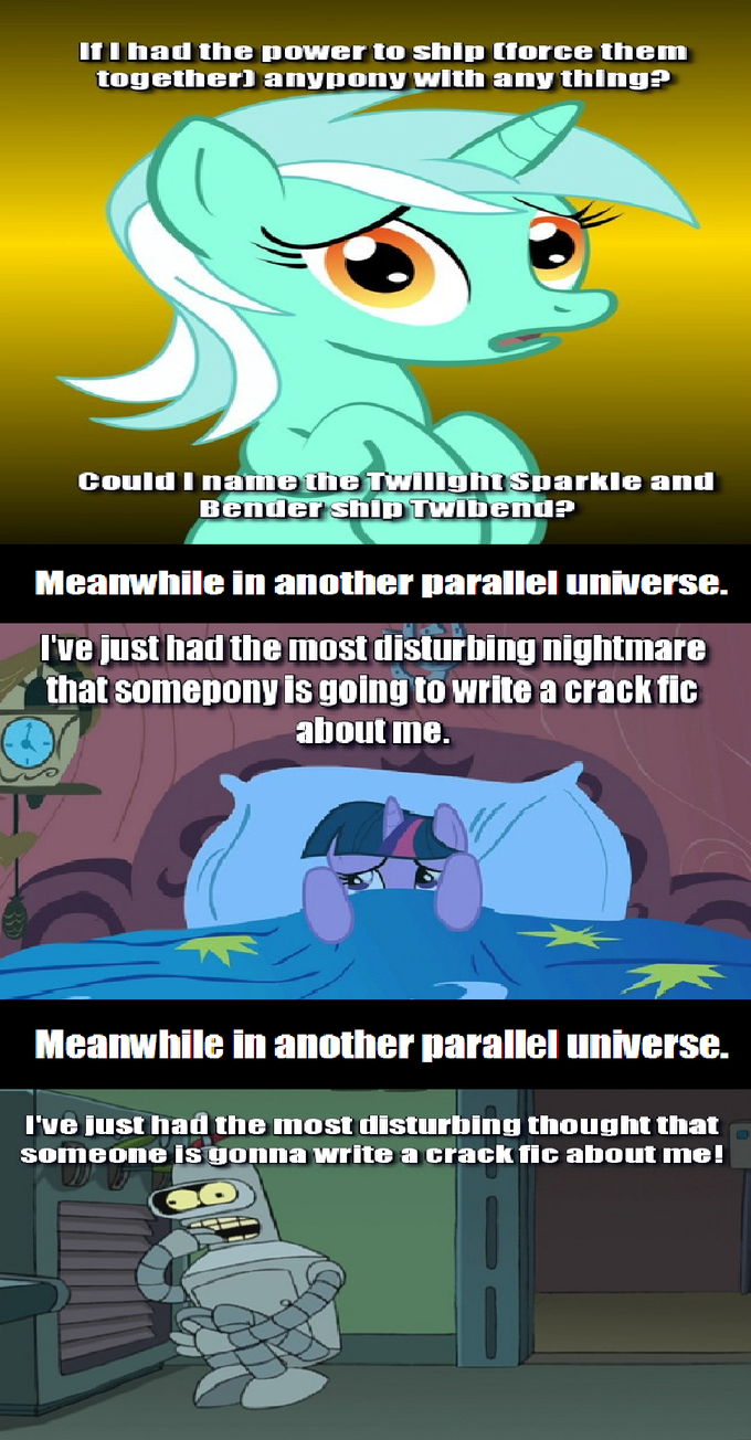 Twilight Sparkle And Bender